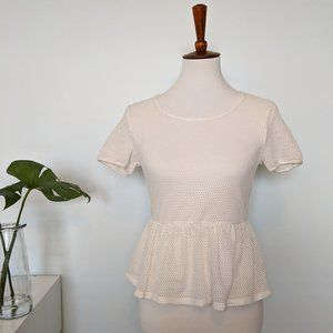 Lucca Couture Peplum Top